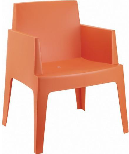 Cabin Living Gartenstuhl Box Orange